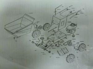 Muck Truck Exploded View