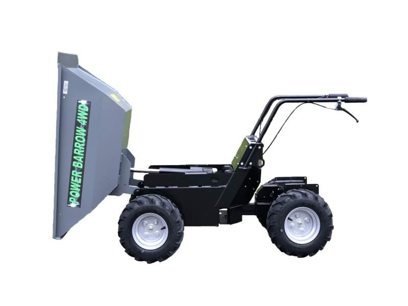 Electric Mini Dumper 4WD (Battery Powered)